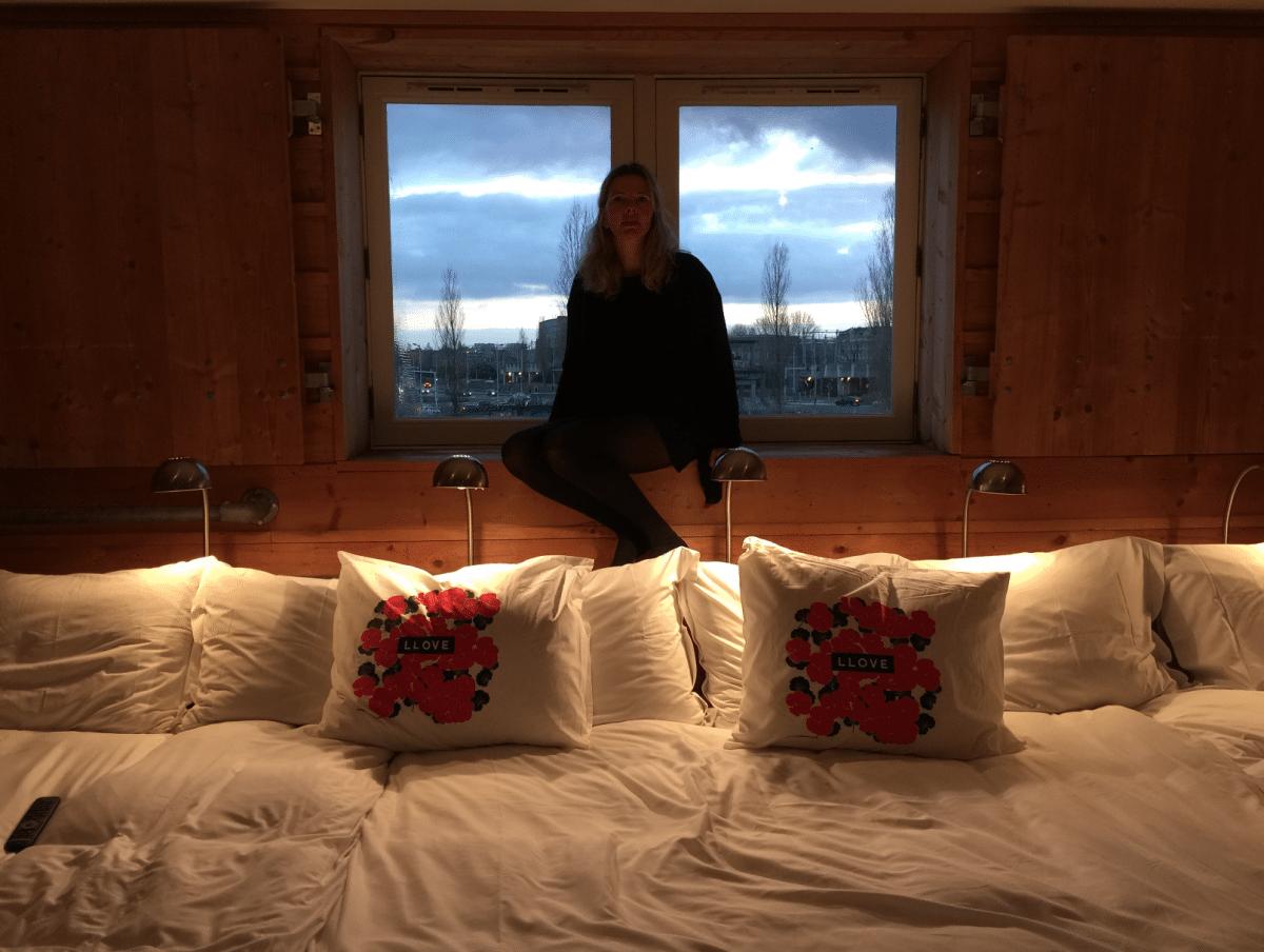 7-persoonsbed in Lloyd Hotel Amsterdam
