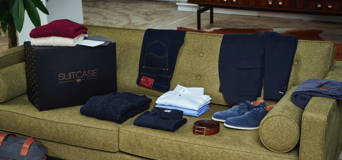 Suitcase voor de niet winkelende man