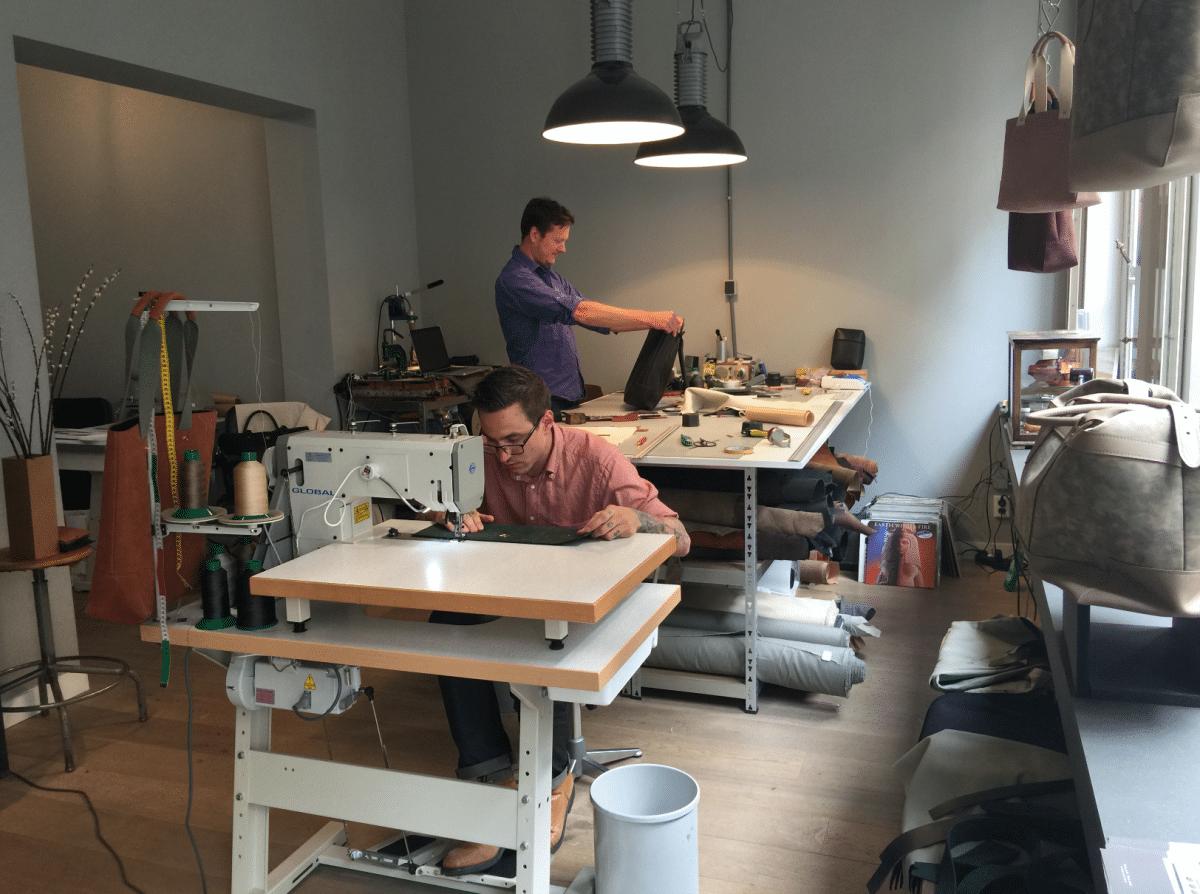 Authentiek tassenmaker Milan Palma