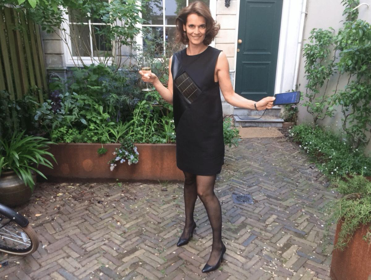Solar dress van Pauline van Dongen