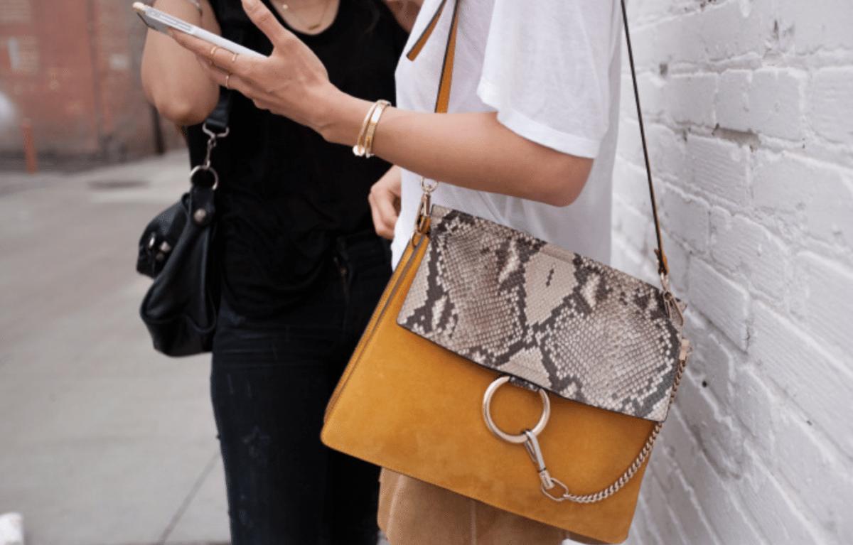 Faye: dé it-bag van Chloé