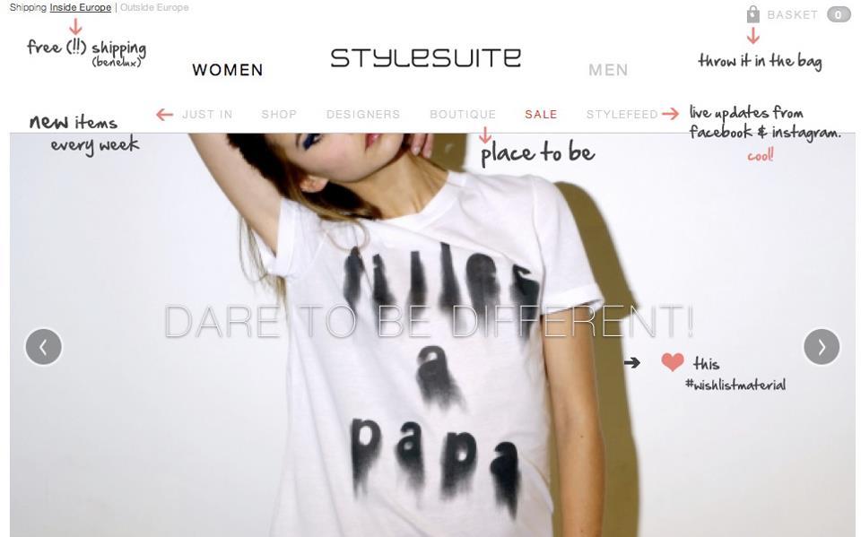 Online shoppen bij Stylesuite