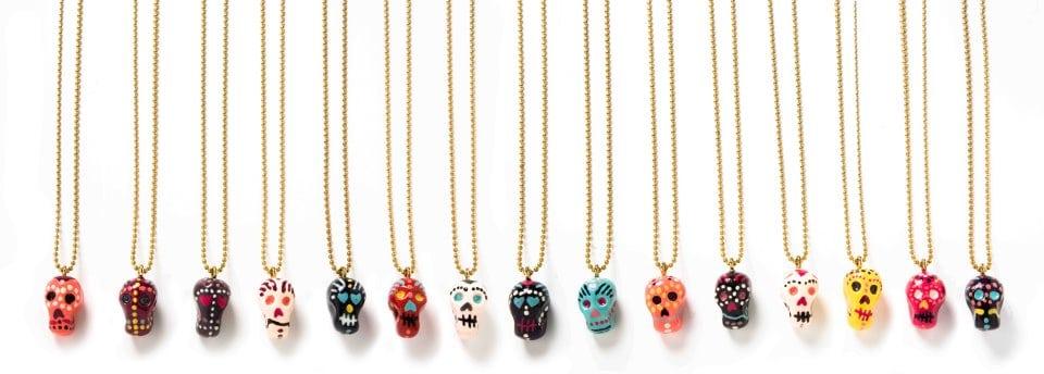 Kleurrijke skulls van Sugar Skully