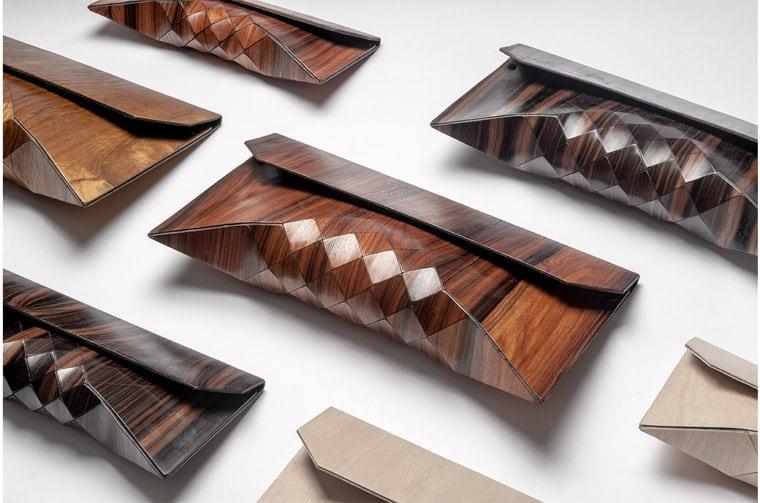 3 x opmerkelijke tassen van hout