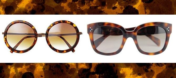 8 x tortoise zonnebrillen
