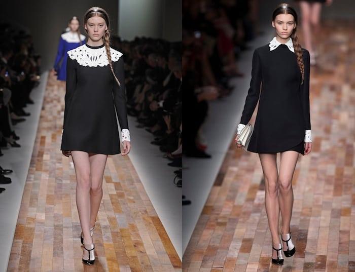 Love to have AW 2014/2015: zwart witte jurk