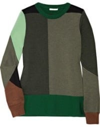 Colour blocking knitwear van Chloé