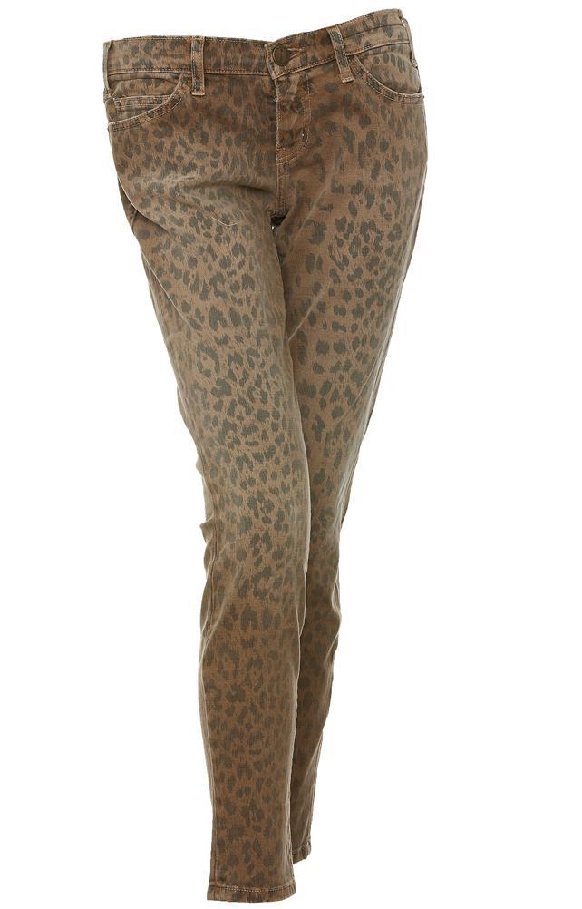 Luipaard jeans van Current/Elliot