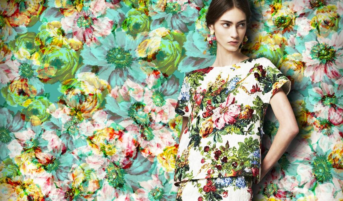 10 x klassieke bloemenprints