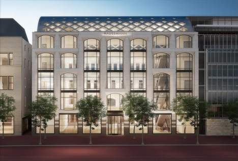Luxe warenhuis Haussmann in Amsterdam