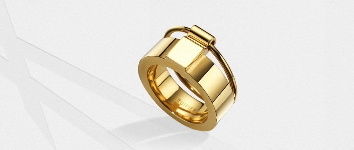 Tijdloze Icon Ring van Ruifier