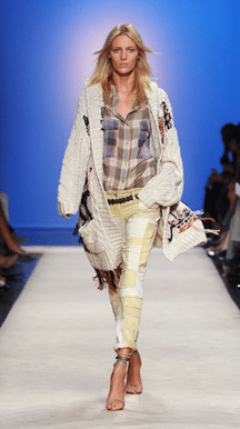 Isabel Marant patchwork jeans NU!