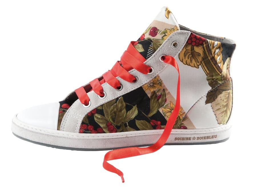 Printjestrend zet door op sneakers