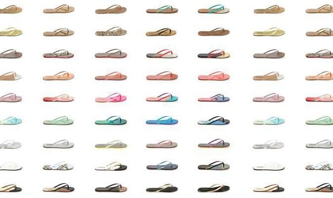 Kleur aan je voeten met Tkees