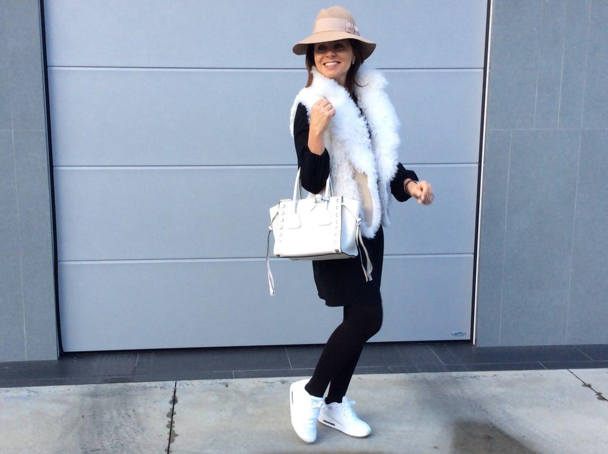 Miriam's Thursday: Winter witte Prada tas