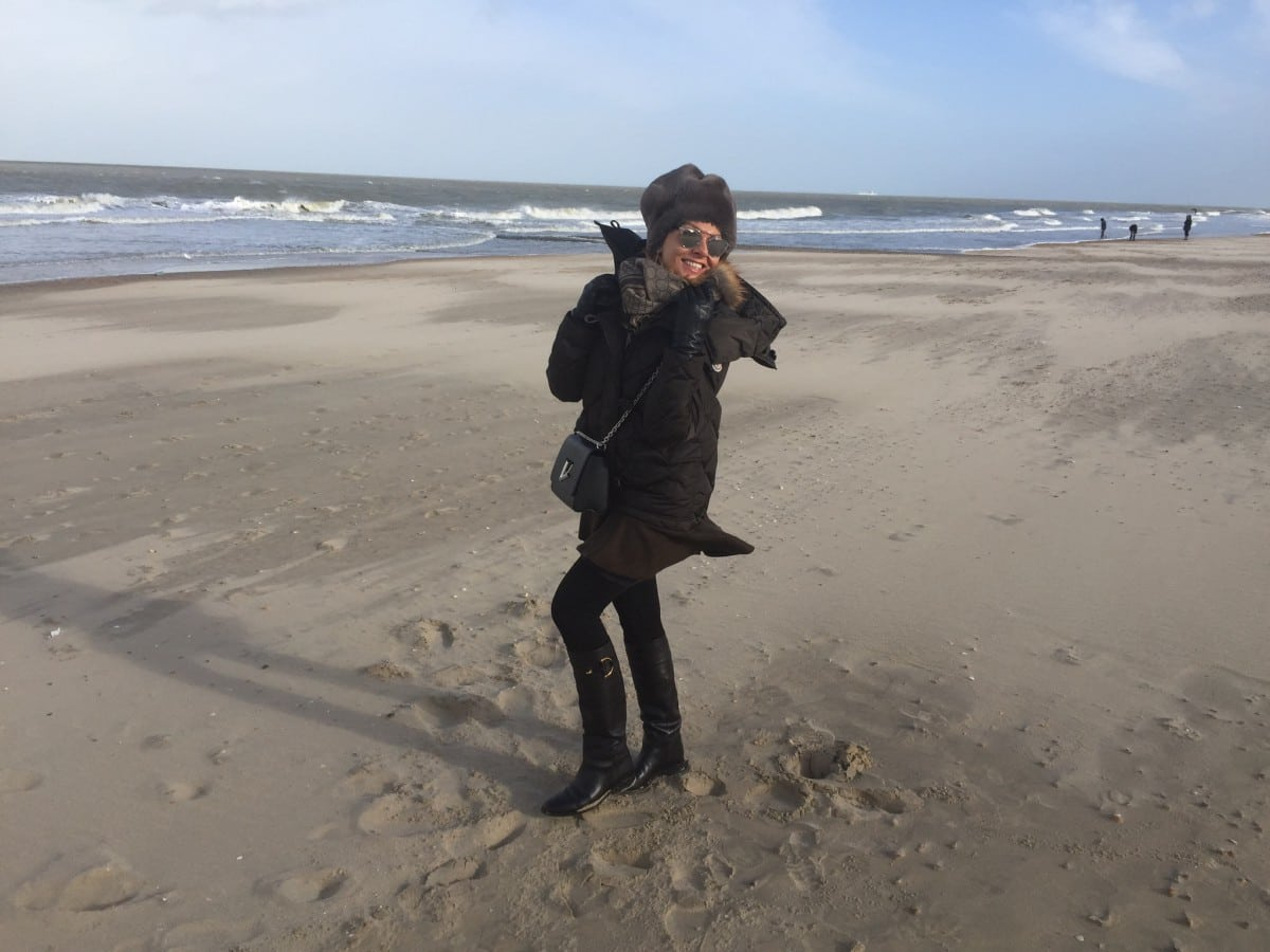 Miriam's Thursday: In Moncler aan zee