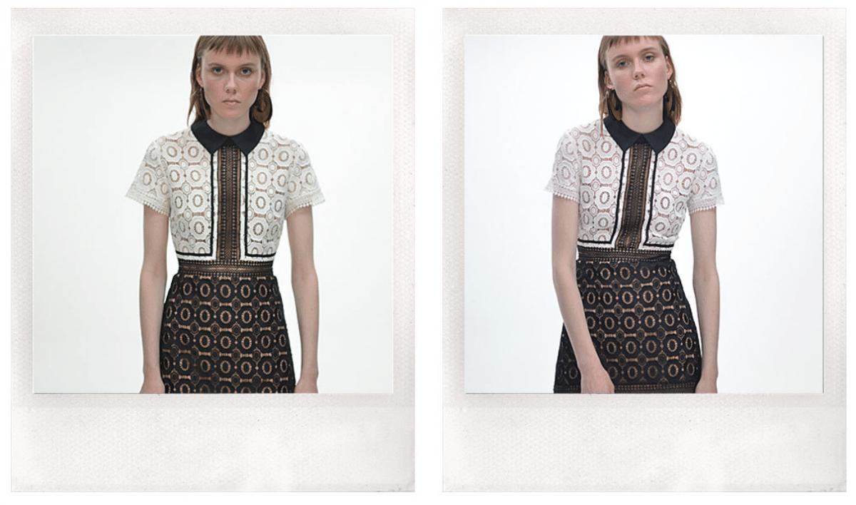 Love that lace dress van Self-Portrait