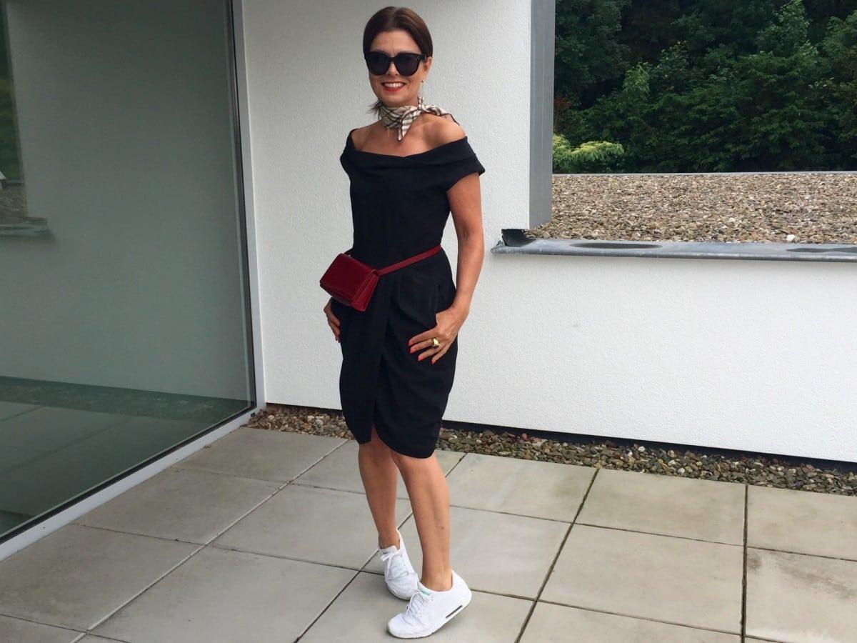 M's Thursday: Go-to-black zomer dress