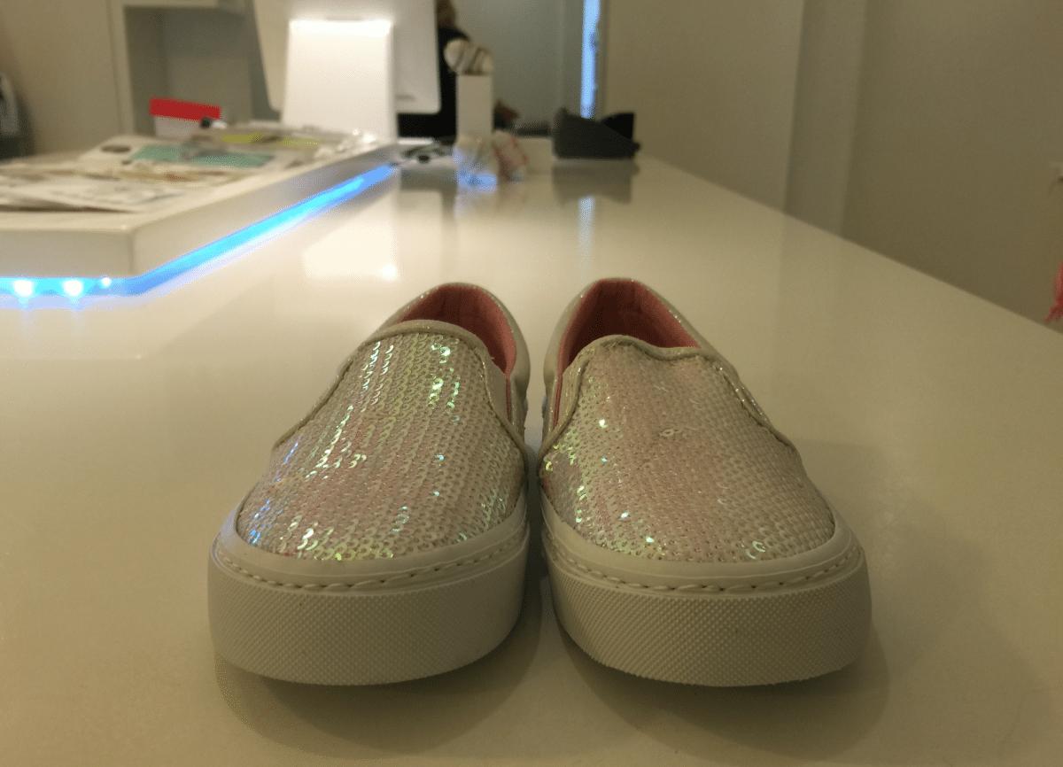 Zoete slip-on sneakers voor stoertjes