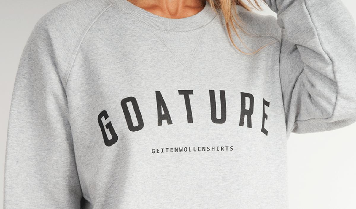 sweatshirt geitenwollenshirts