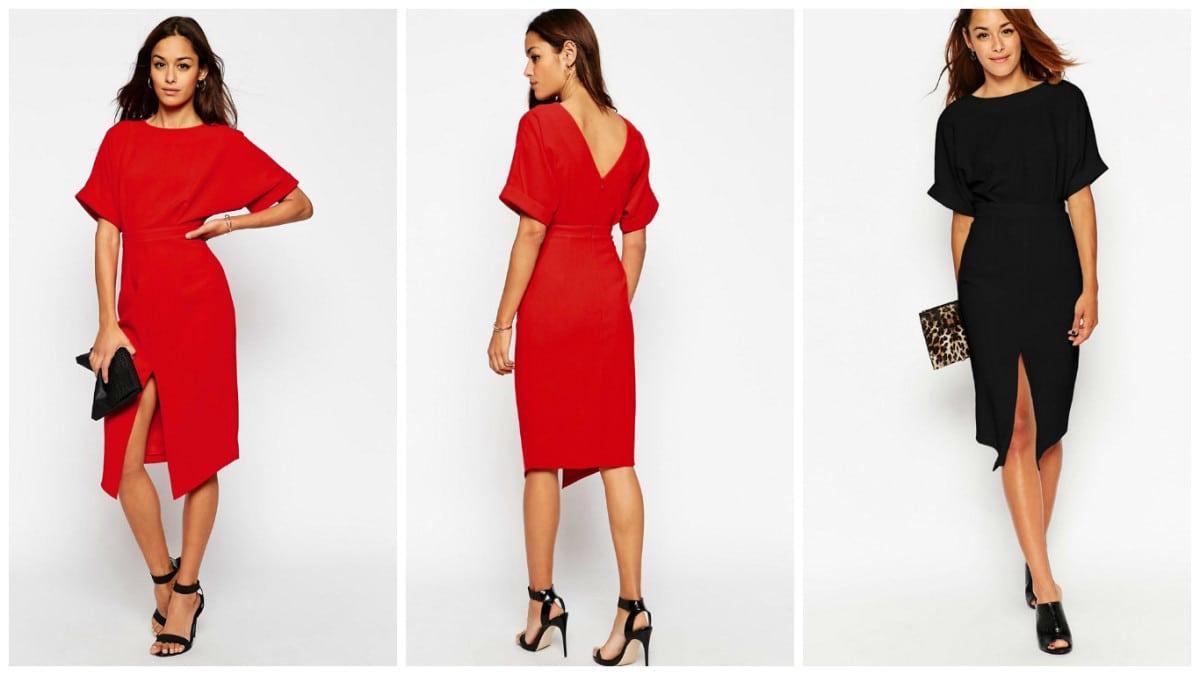 Extreme couponing voor rode jurk van ASOS