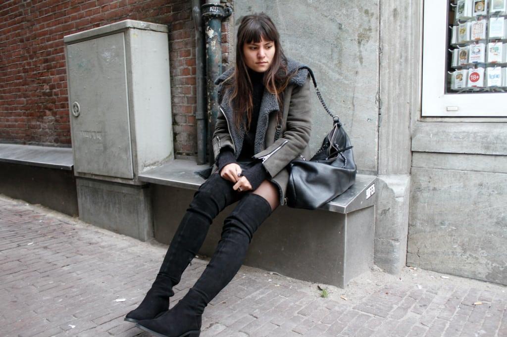 Fabienne overknee boots