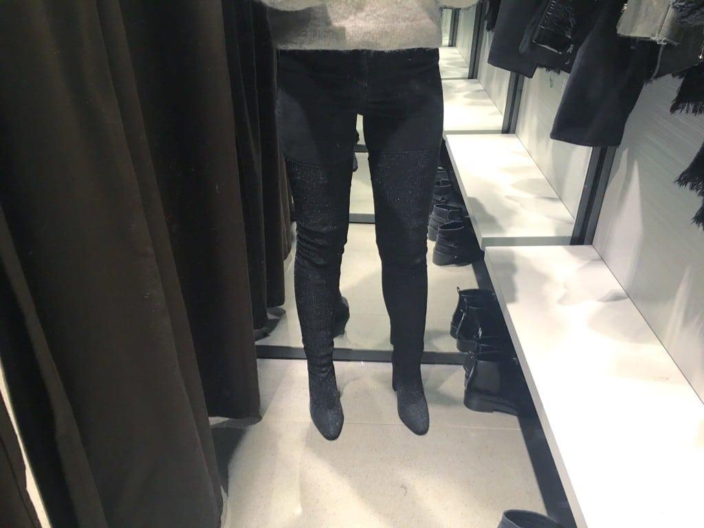 Overknee boots van de Zara
