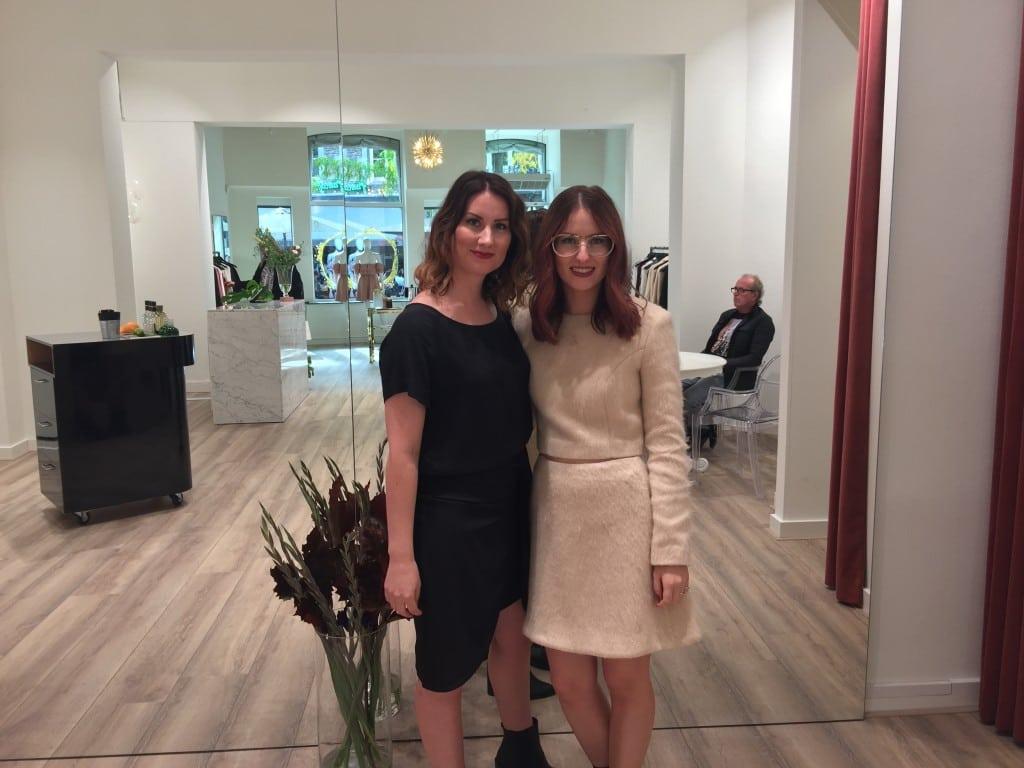 Esmee en Maxime op de dag van de opening