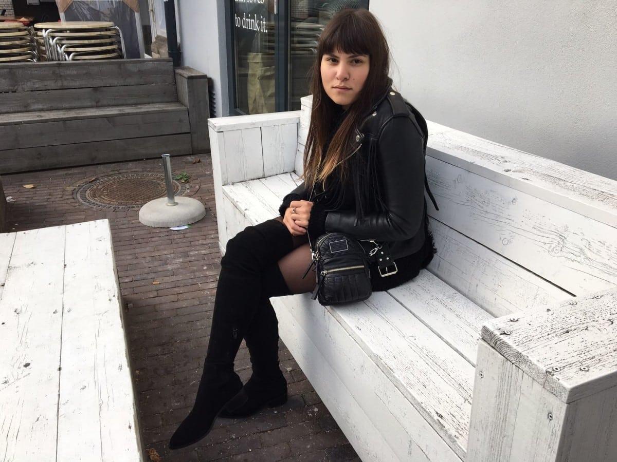 Dag 2: Fabienne en haar overknee laarzen