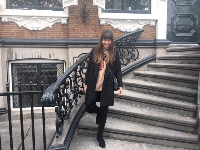 week op rij Fabienne