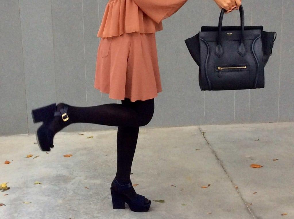 Céline sandals blue