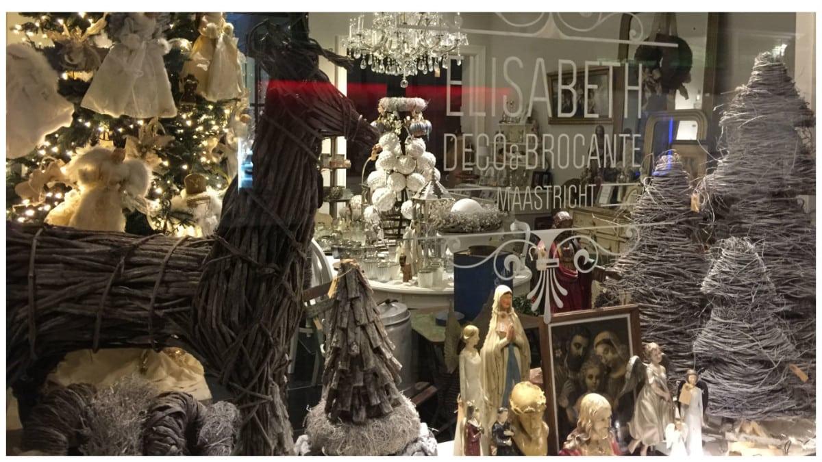Kerstdeco shoppen bij Elisabeth in Maastricht