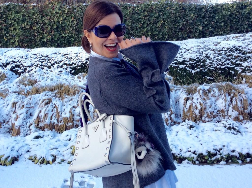 oversized wintertrui Zara