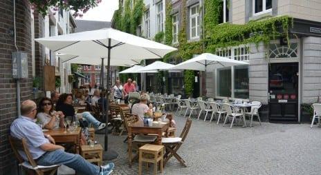 De hele zomer terrassen in Maastricht