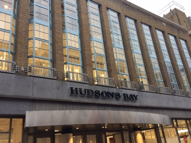 Hudson's Bay is coming to town