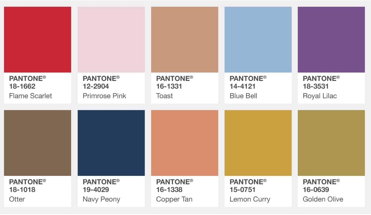 najaar kleur aw2017 kleurpalet