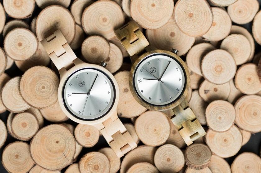 Cadeautip: een houten horloge