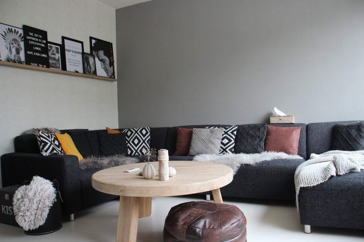 Een comfortabele woonkamer