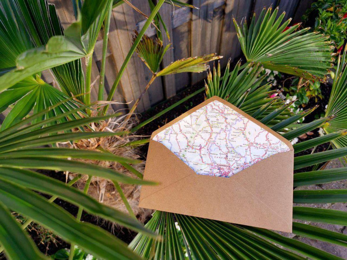 DIY: Enveloppen versieren