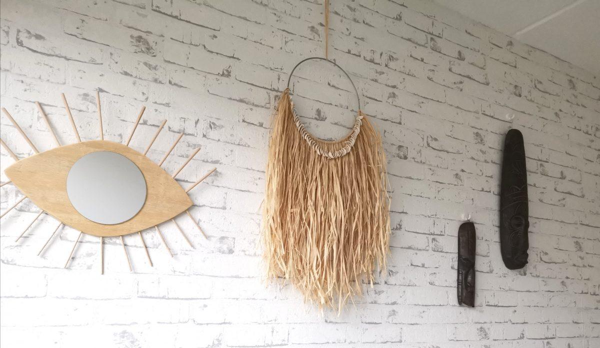 DIY: Bohemian wandhanger