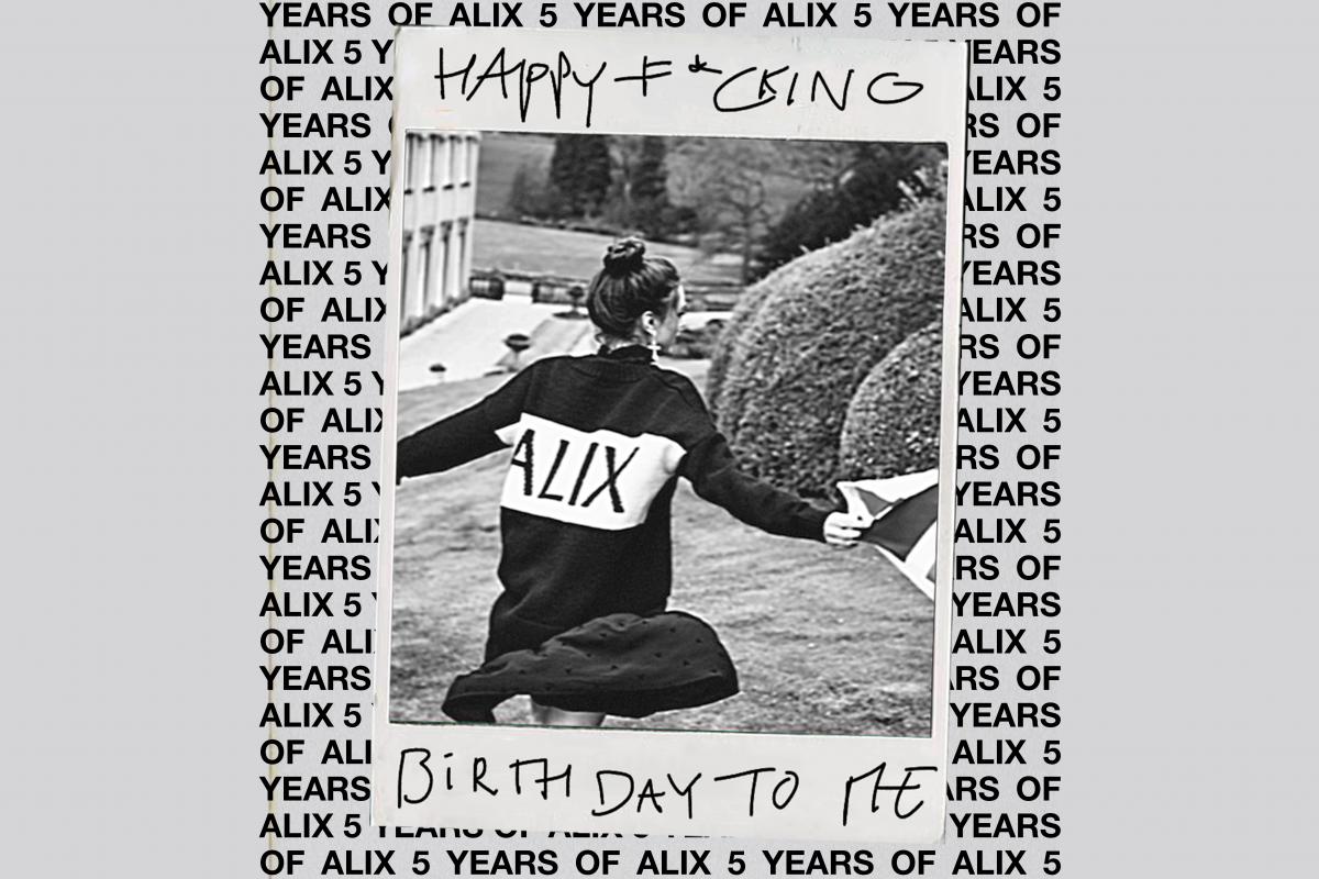 Toffe winactie: ALIX the label 5 jaar!