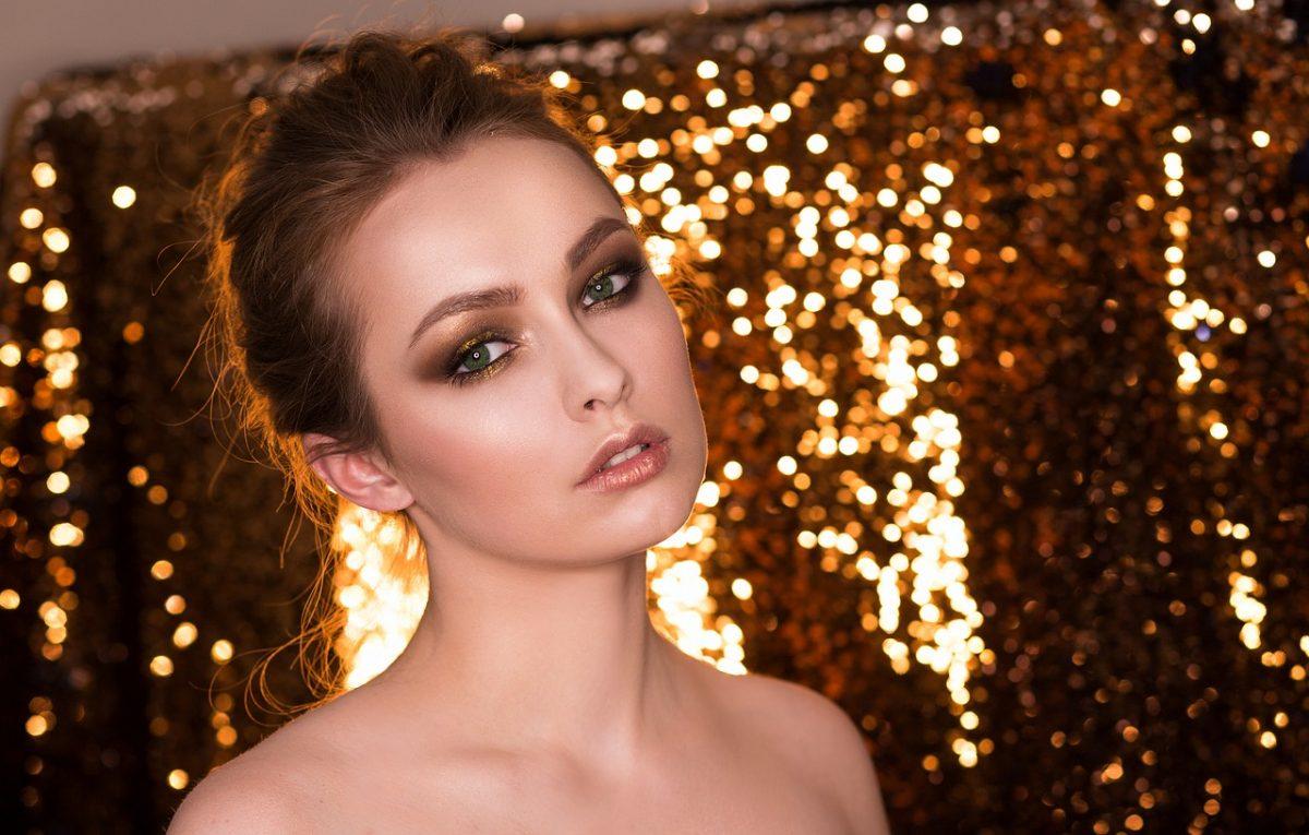 Inspiratie voor een feest make-up look