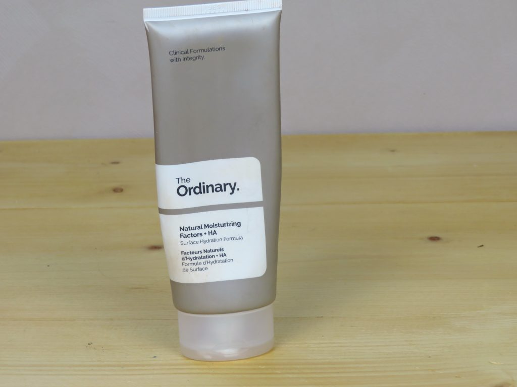 The Ordinary natural moisturizing factors + HA, hydraterend, ontstekingsremmend, egaliserend, droge huid, alle huidtypes
