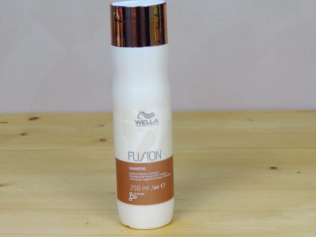 Shampoo, wella, wella fushion repair intense, beschadigd haar, vet haar, verzorgend, verzachtend