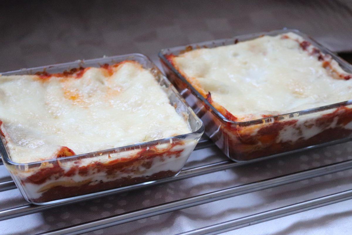Vegetarische lasagne met bechamelsaus