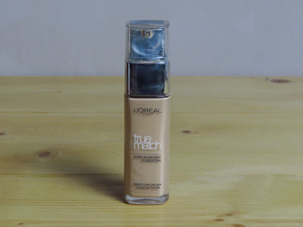 loreal true match foundation 1.5N, foundation, natuurlijke dekking