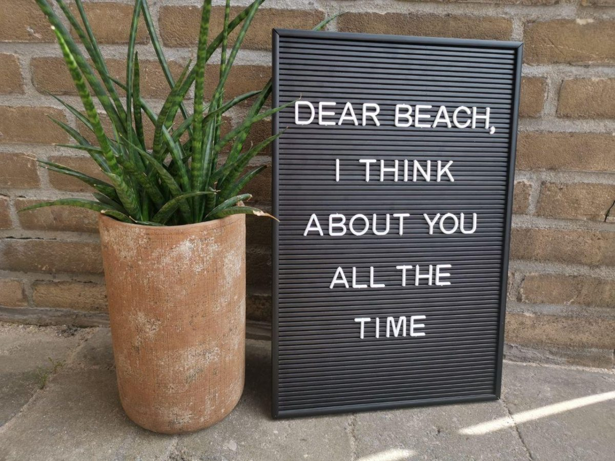 7x Zomerse letterbord quotes