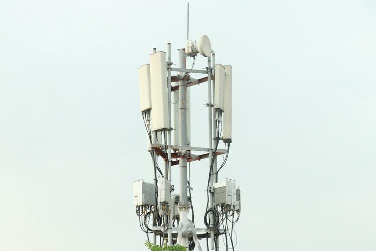 5G internet zendmasten
