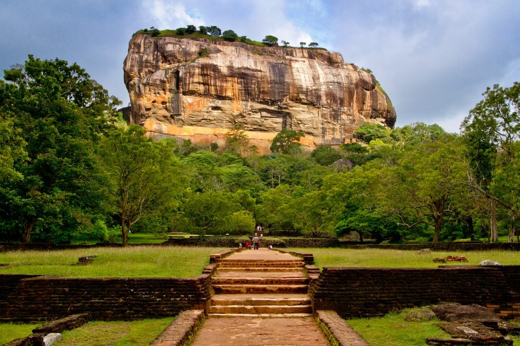 Lion Rock in Sigiriya, Sri Lanka