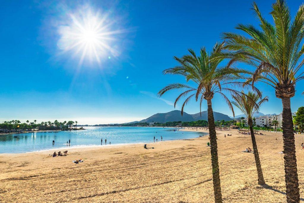 Alcúdia in het noorden van Mallorca